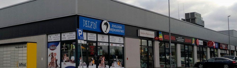 delfin sklep zoologiczny wędkarski andrespol